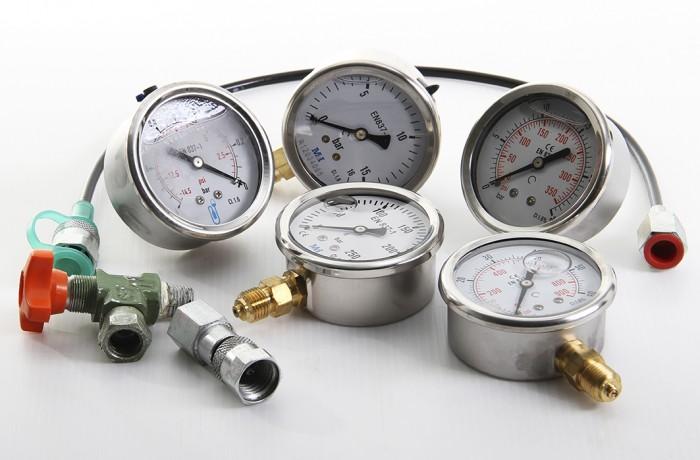 Manomètre, prise pression, capillaire